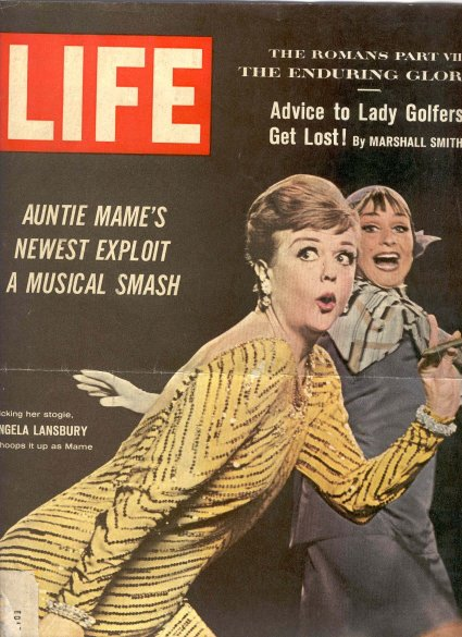 "A cover of Life Magazine: The success of ""Mame""!"