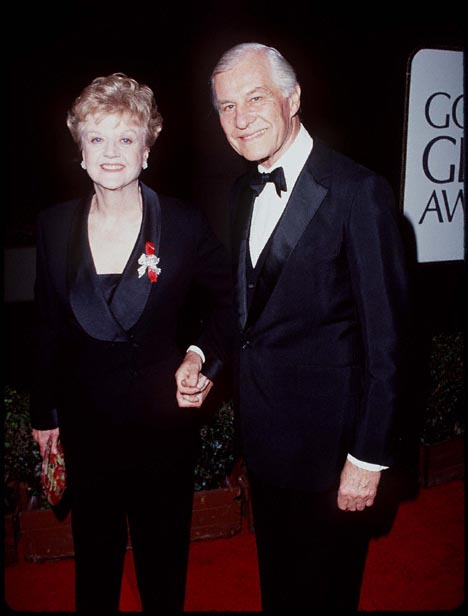 Angela Lansbury and Peter Shaw